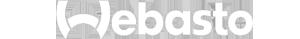 Logo von Webasto in Weiß.